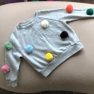 Gymboree sweatshirt in grey, 4